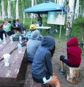 Campground teaching