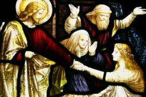 Christ-raising-a-child