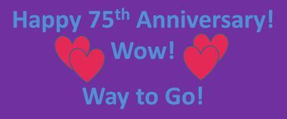Happy 75th