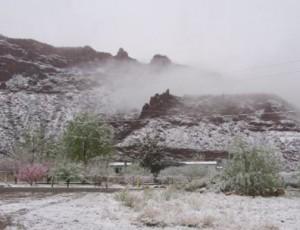 Snowy in Moab