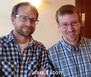 Jesse and Scott
